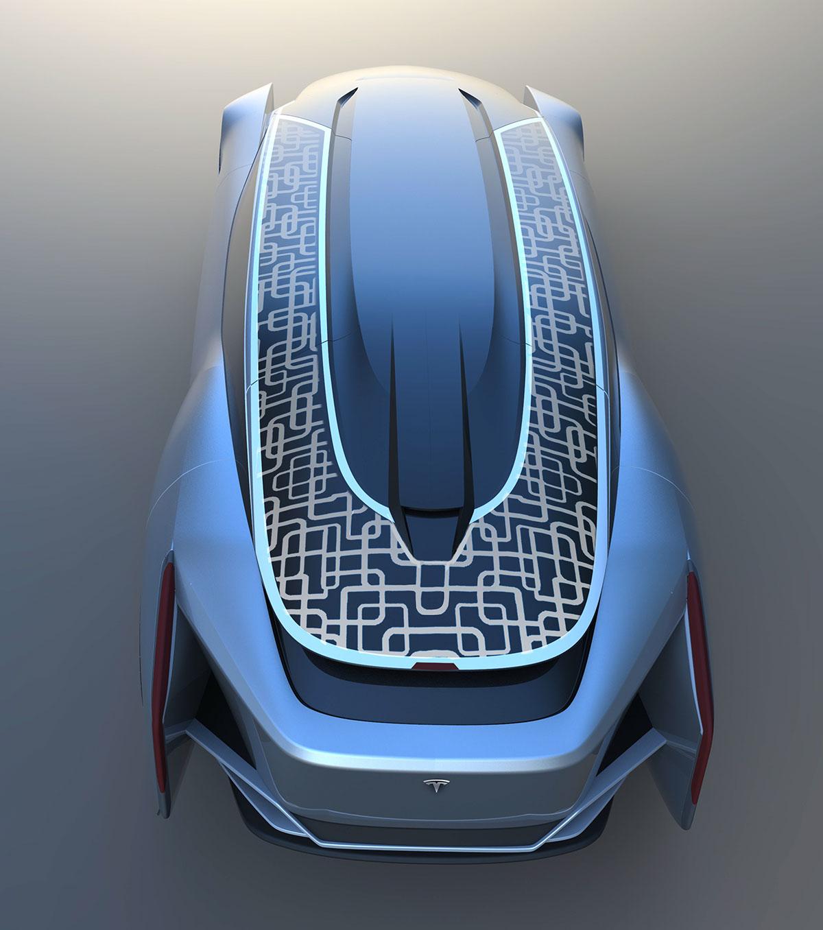 Tesla Motors Images Tesla Model S Larson Sketches: Tesla Motors Flagship Vehicle Model Z On Behance