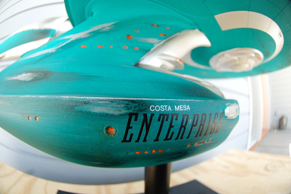 Star Trek USS Enterprise  Ragnar Model Movie Promo
