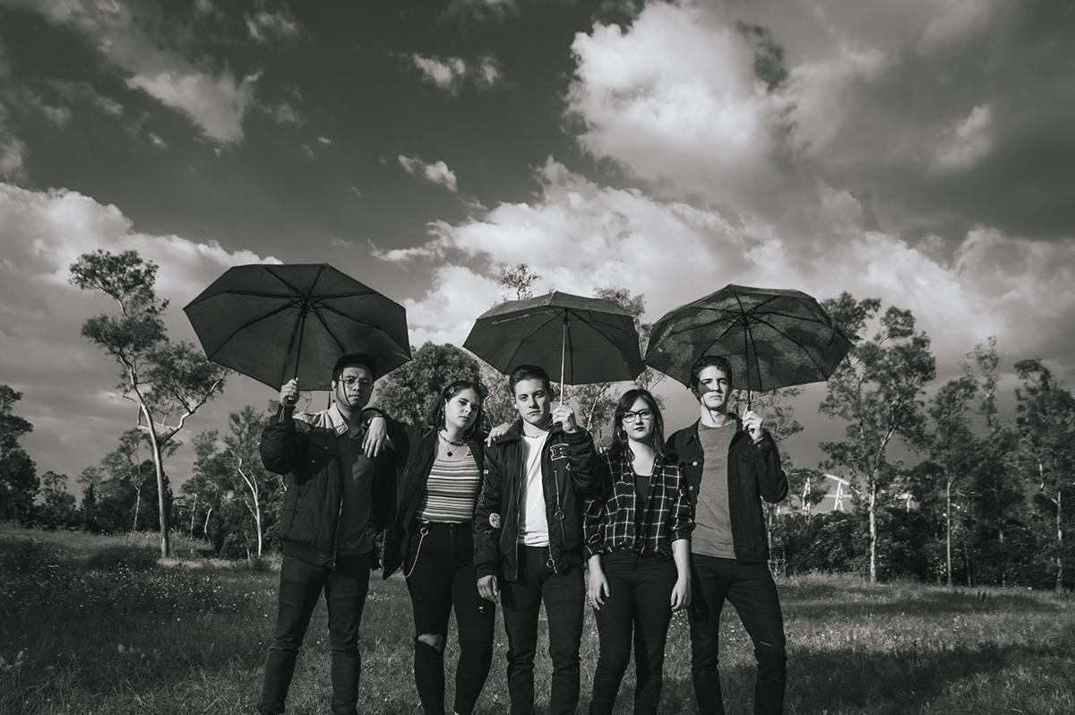 musica conceptual clouds black and white