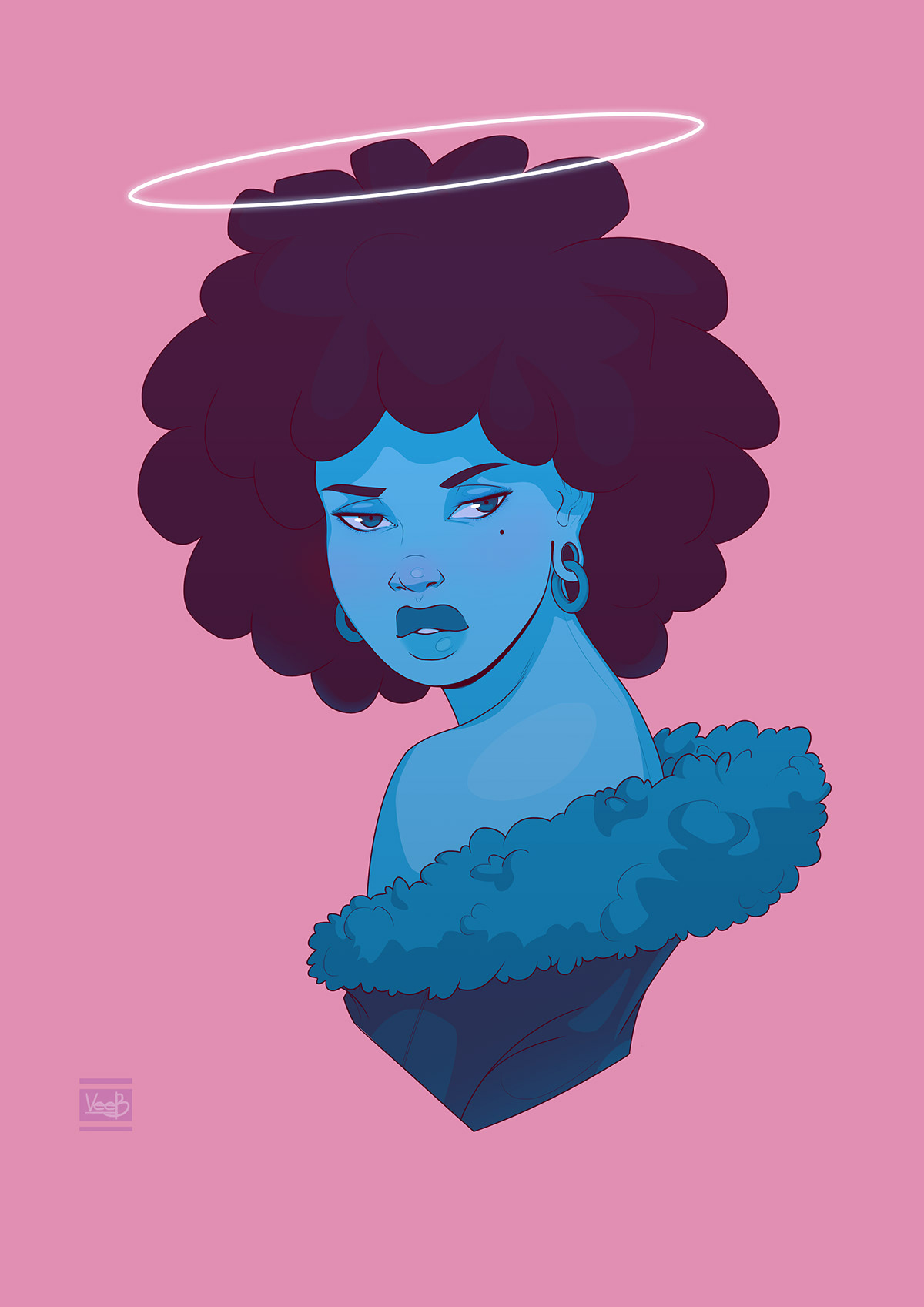 Drawing  graphic design  afropunk Pop Art afro Dreadlocks Digital Art  ILLUSTRATION  colorful vibrant