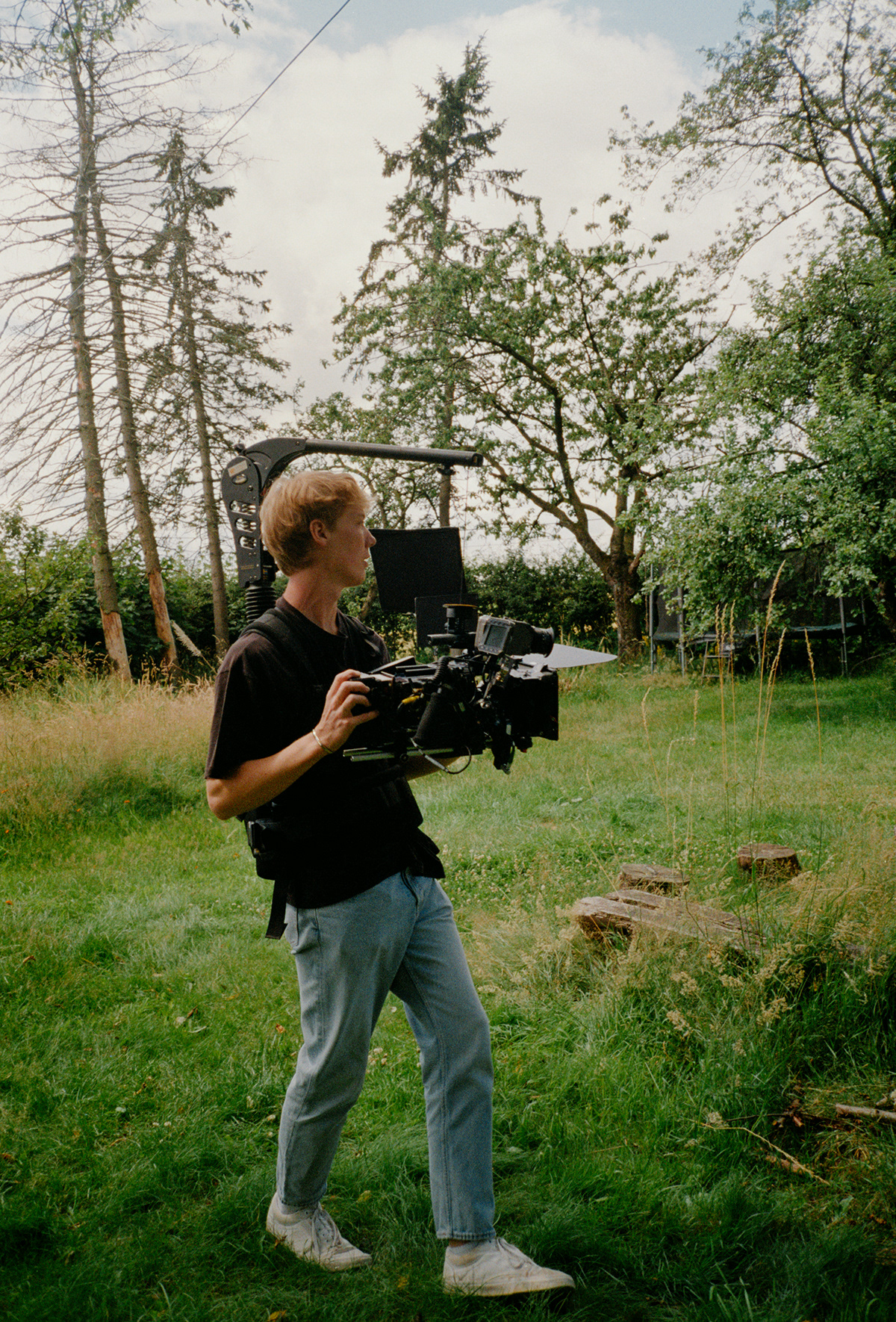 35mm analog behind the scenes bts Film   indie motion music musicvideo video