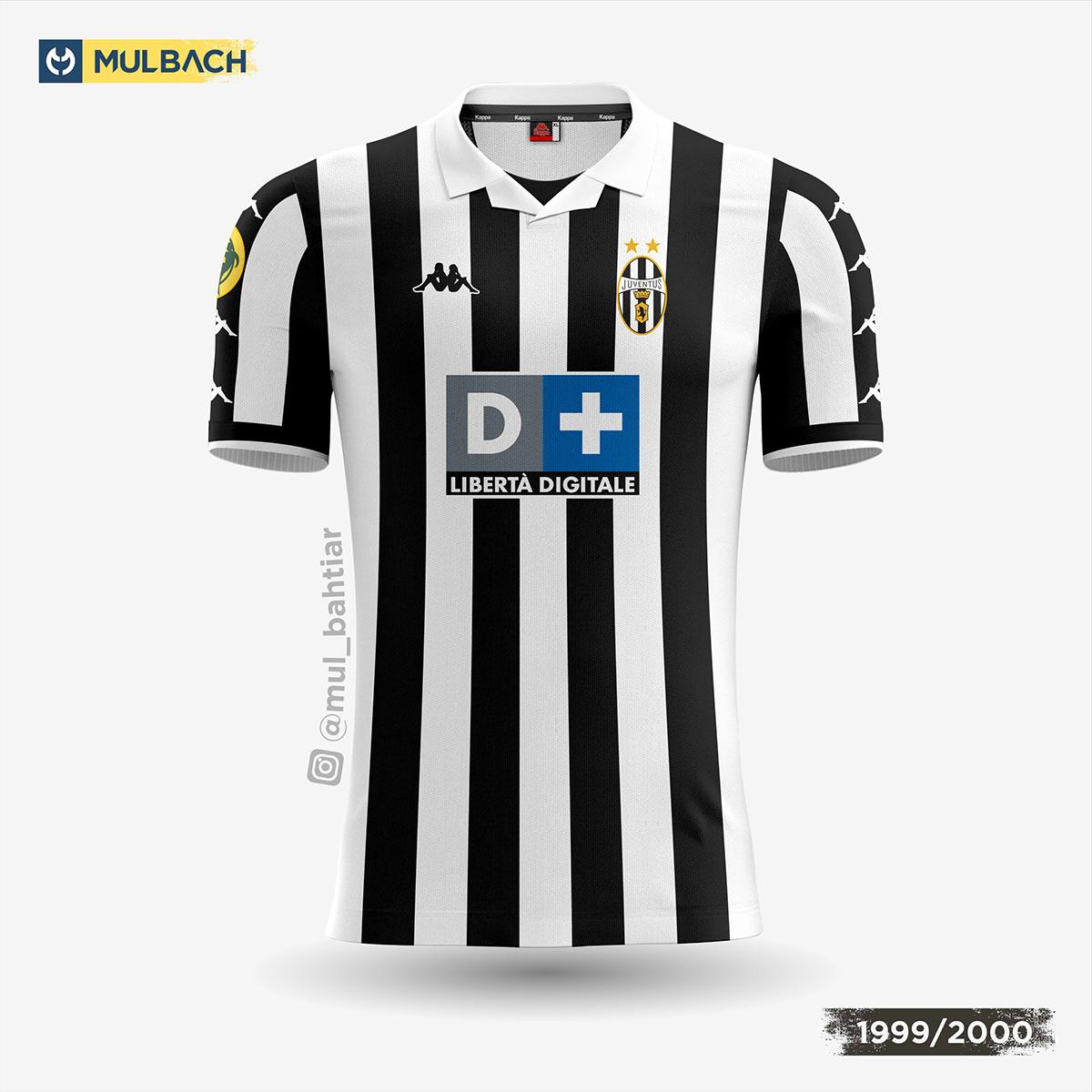 wholesale dealer b5244 2edd3 Juventus Kits History on Behance
