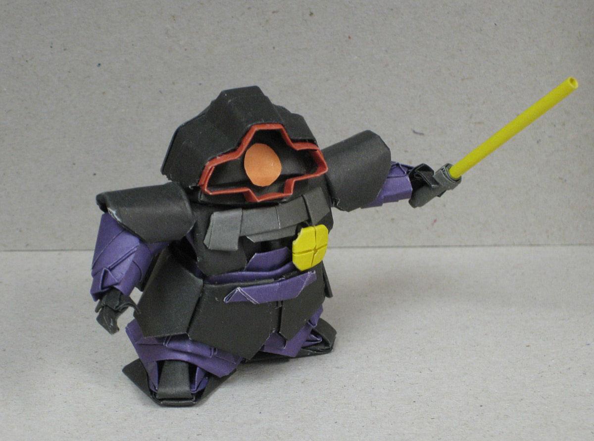 Incredible Origami Mobile Suit Gundam Robots On Behance