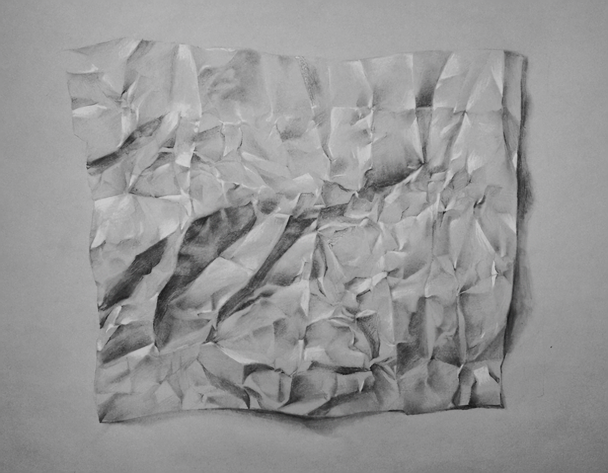 crumpled paper on behance