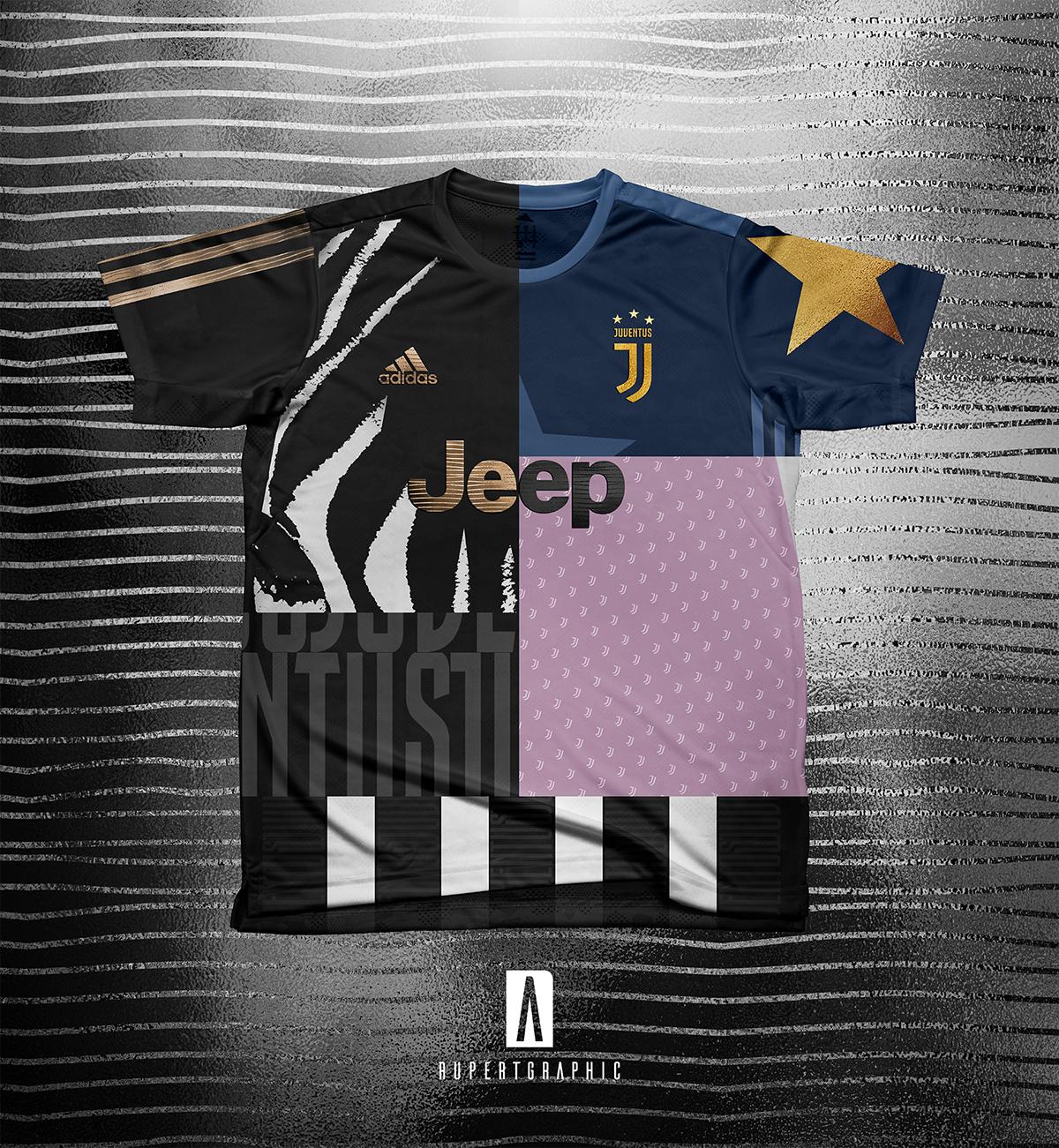 821cdc5b6a6 Juventus Concept 2018 19 - Adidas on Pantone Canvas Gallery