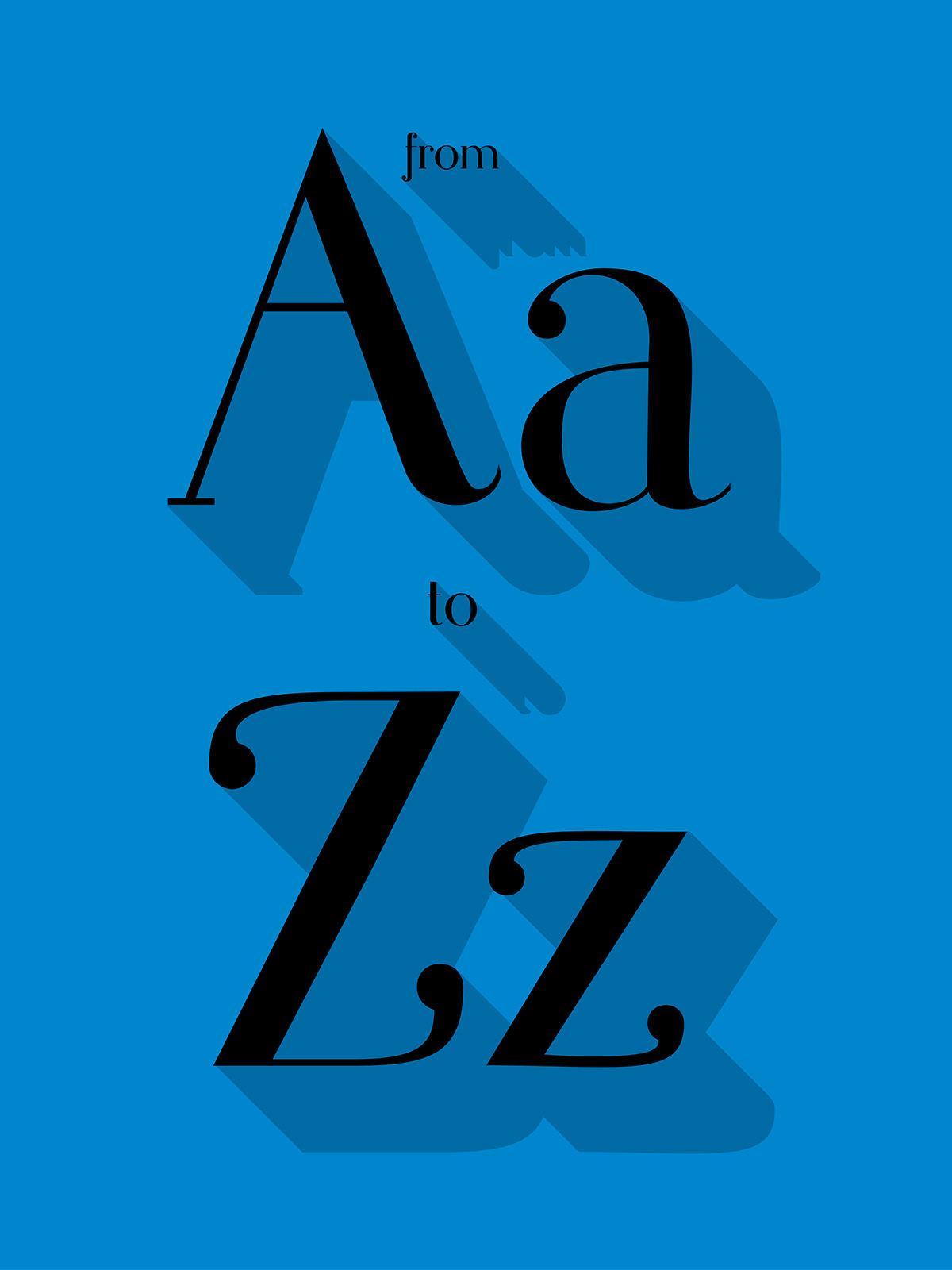 Typeface font schriftart schrift drop short project Martina Flor Own Typeface Myfontproject my font free download free download downlaod