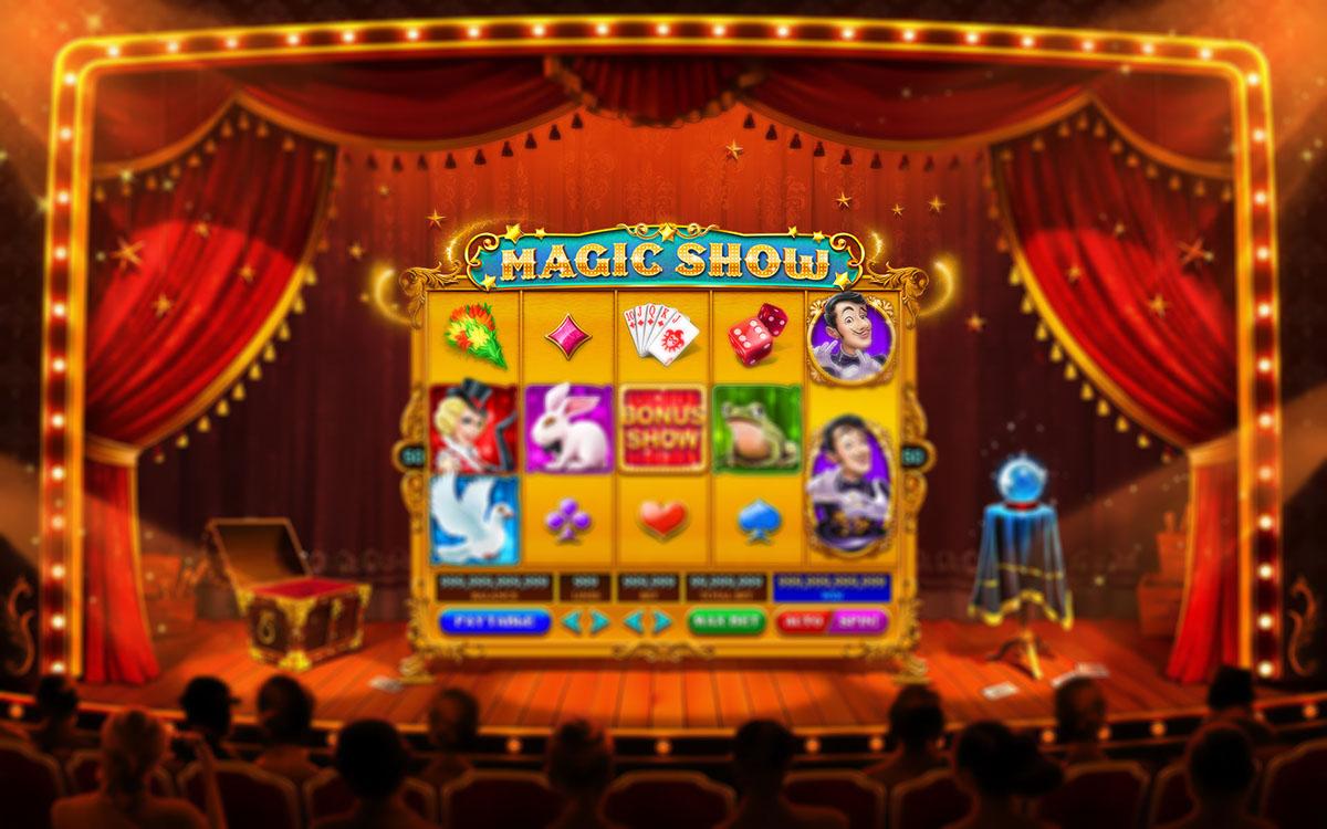 Magic Show Slot Machine