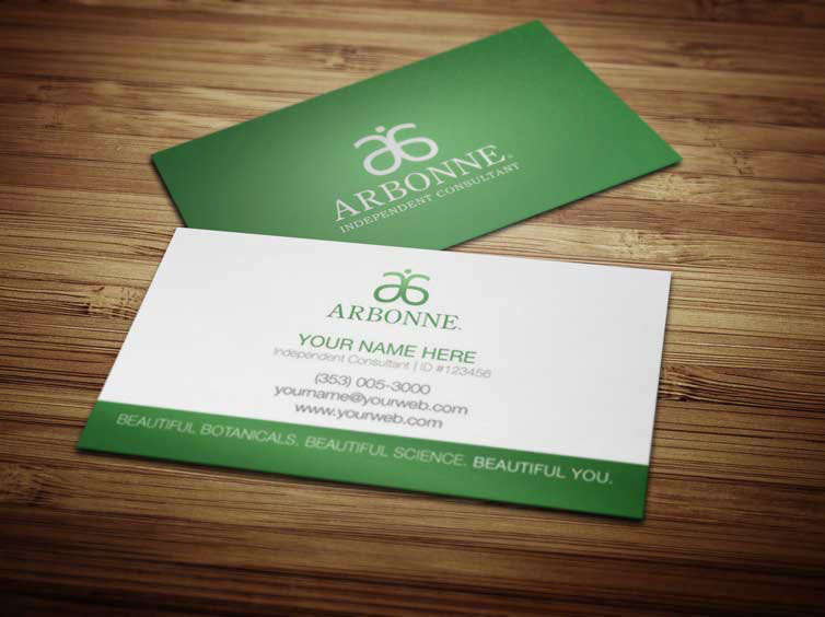 Arbonne business cards on behance reheart Images