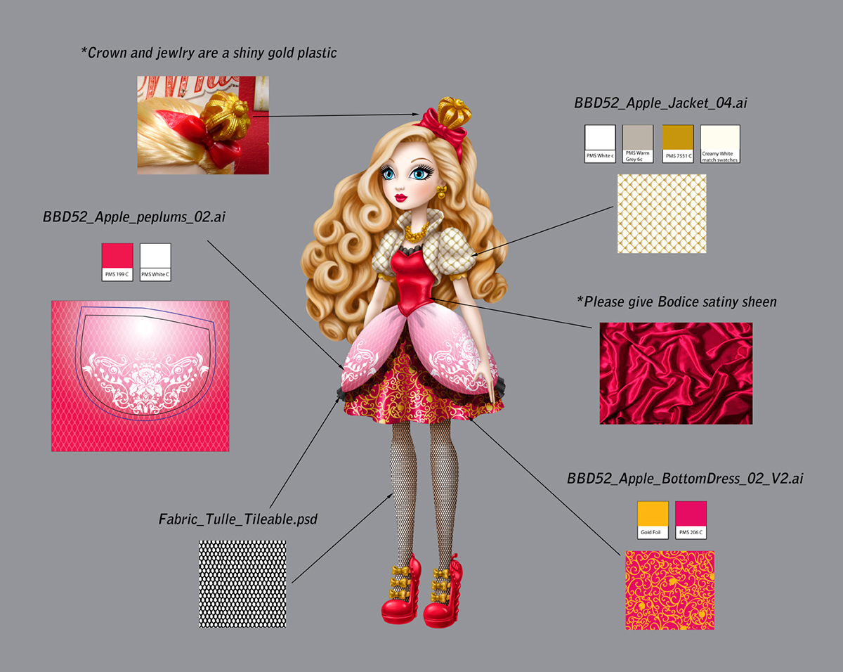 Ever After High - Apple White on Behance