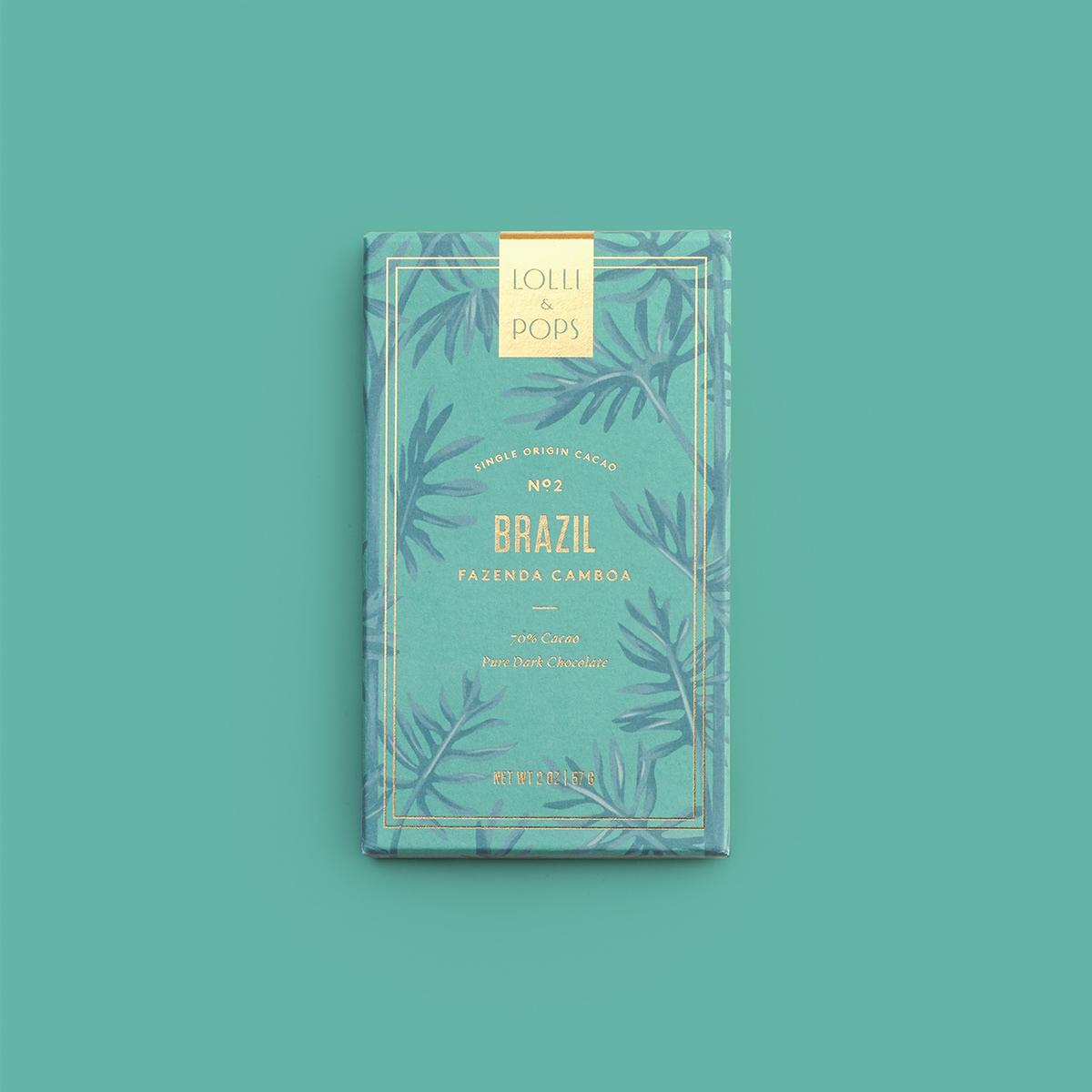 Single Origin Chocolate Bar (Brazil)