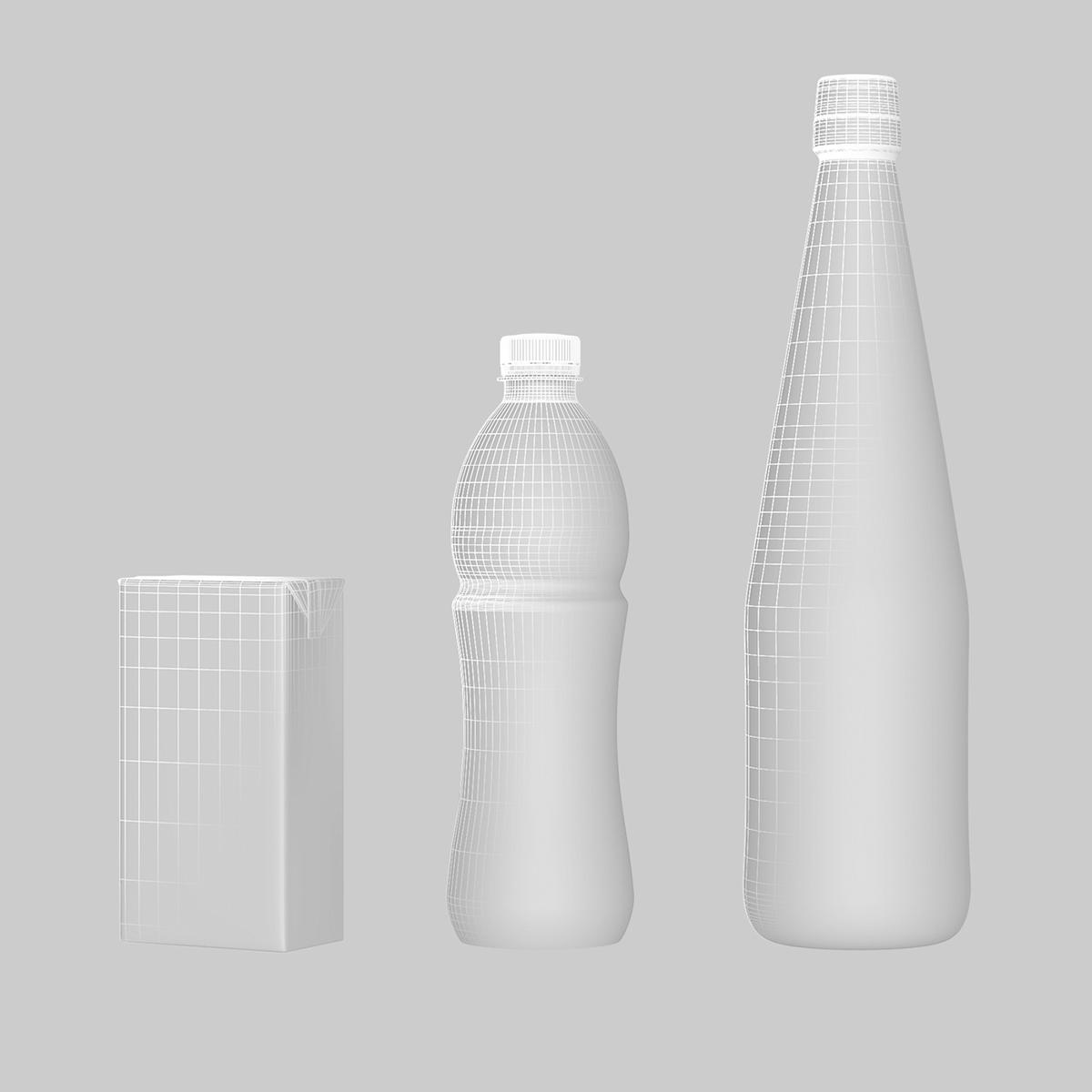 CGI modelling 3D Ribena drink festival Visualising