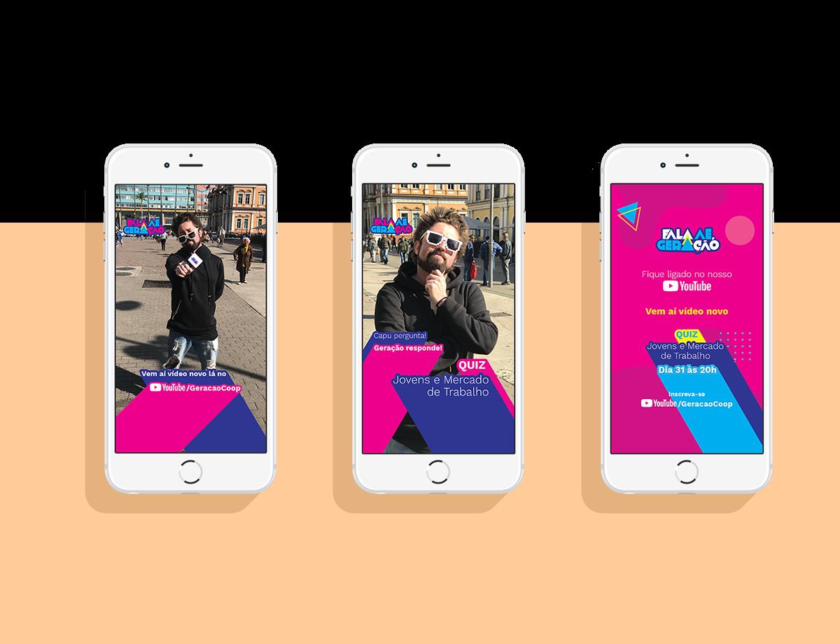 webserie identidade visual social media card Redes Sociais baner youtube miniatura