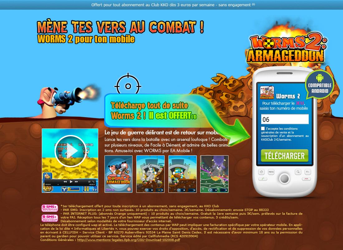 Jump Du Jeu Mobile Worms 2 On Behance