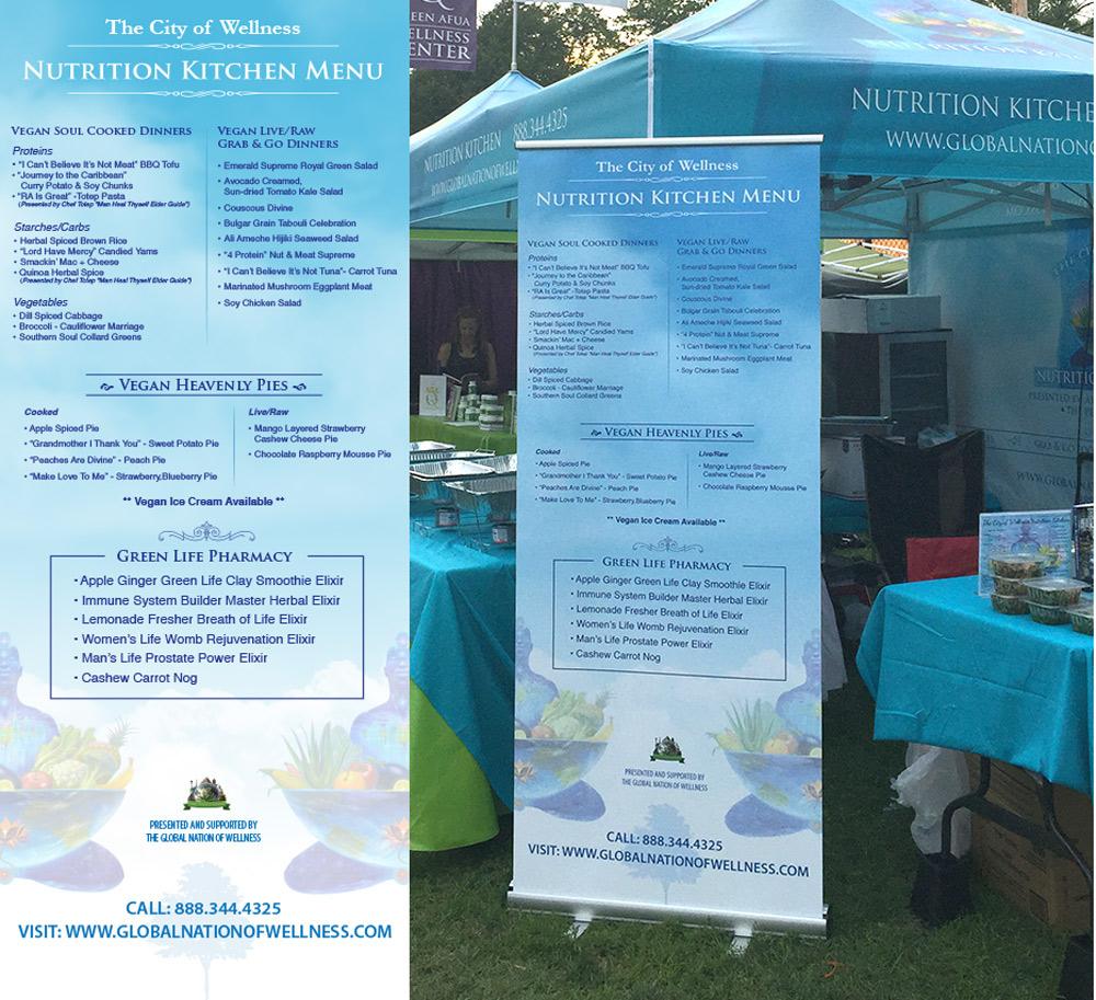 Queen Afua Wellness Institute on Behance