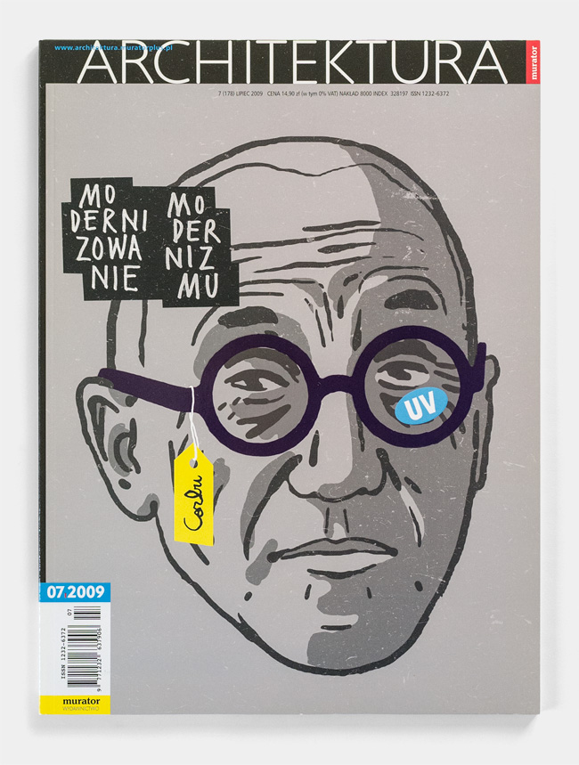 cover magazine Corbusier modernism