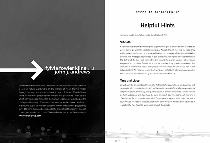 Steps To Discipleship Book On Behance