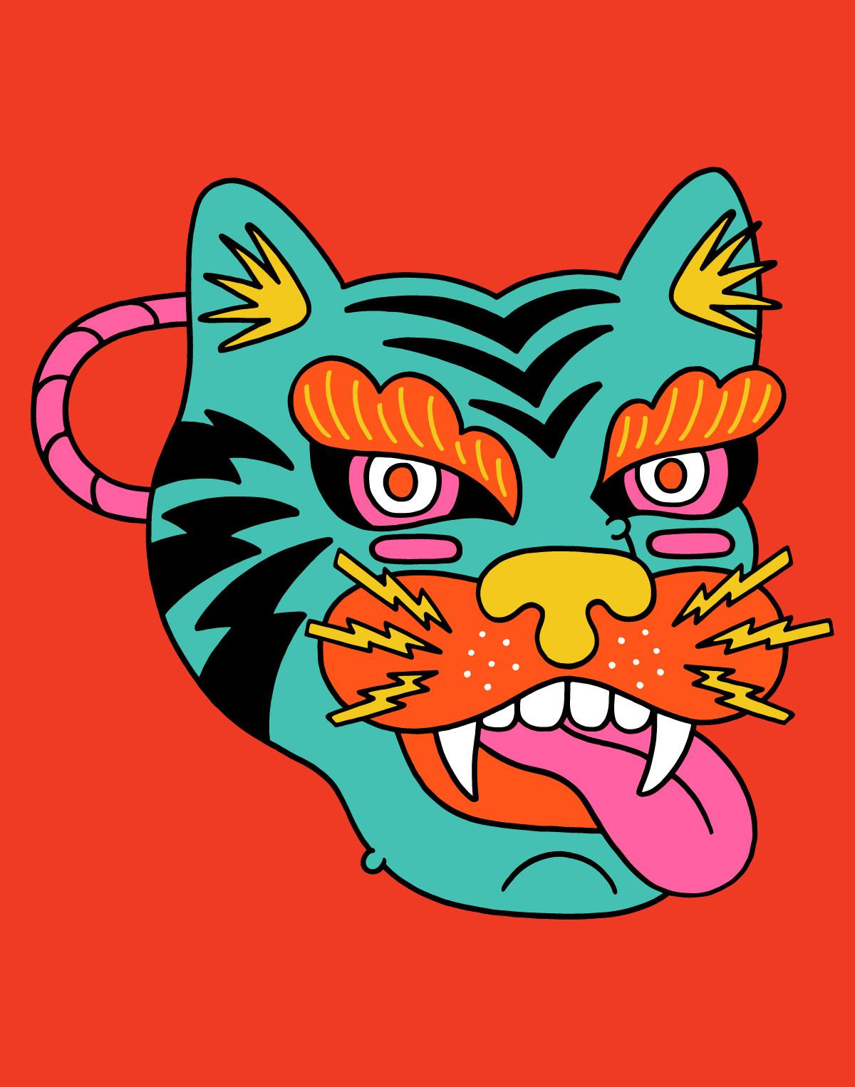 Image may contain: cartoon, illustration and animal