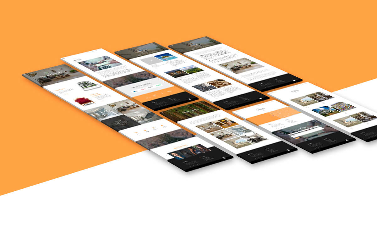 wordpress Theme page transition