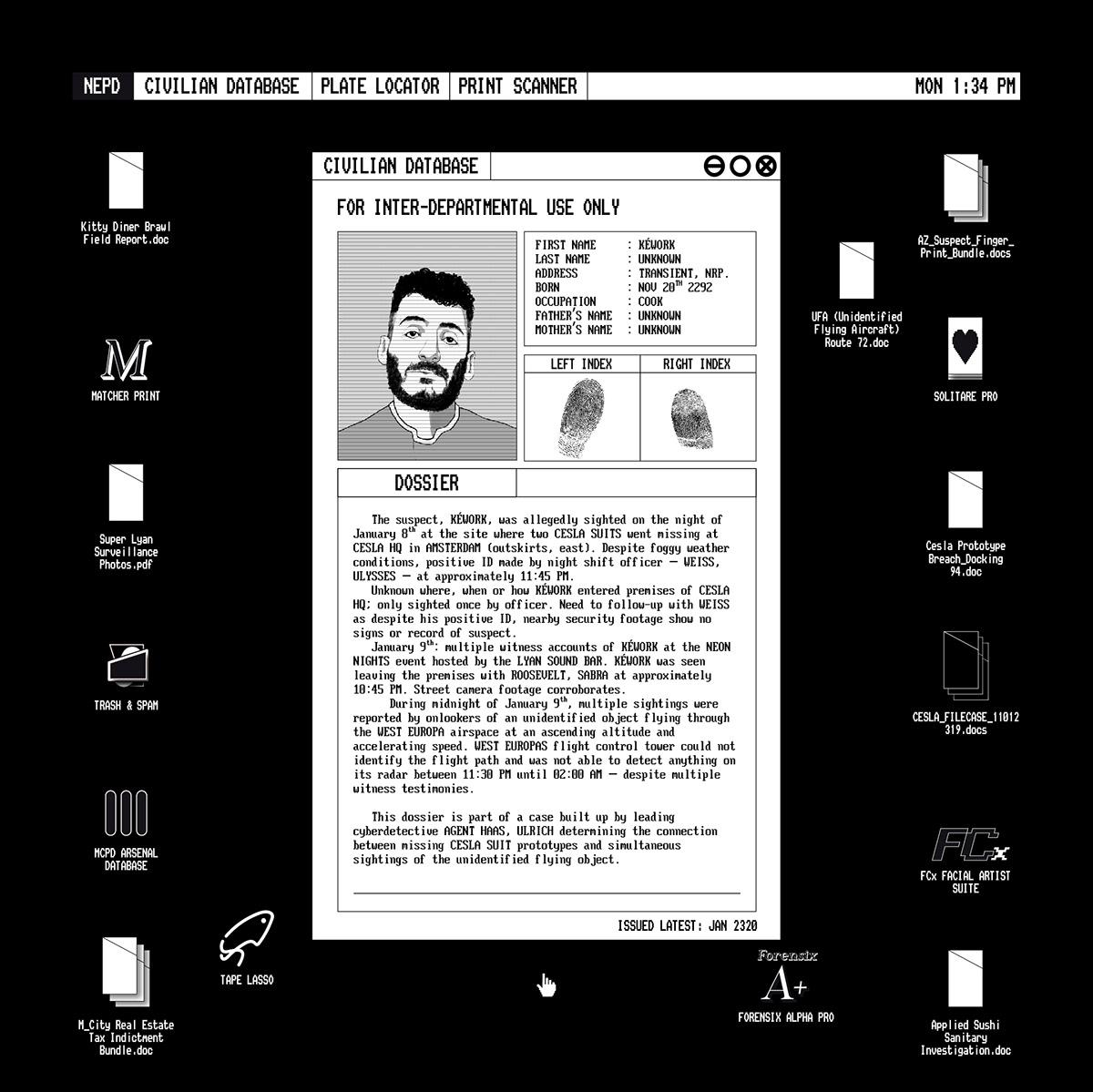 Image may contain: abstract, screenshot and human face
