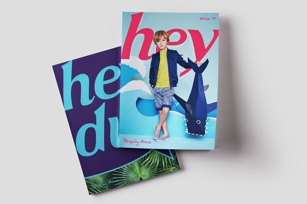 Hey Magazine on Behance