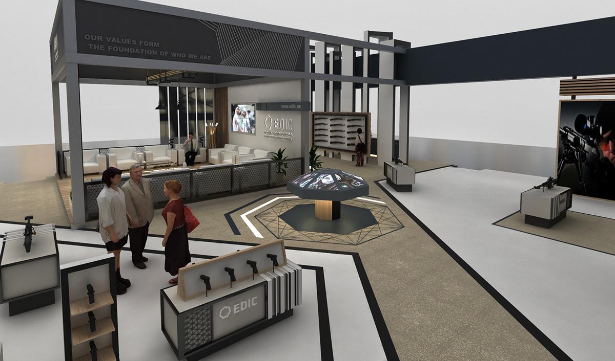 EDIC Caracal exhibition stand-UAE on Wacom Gallery