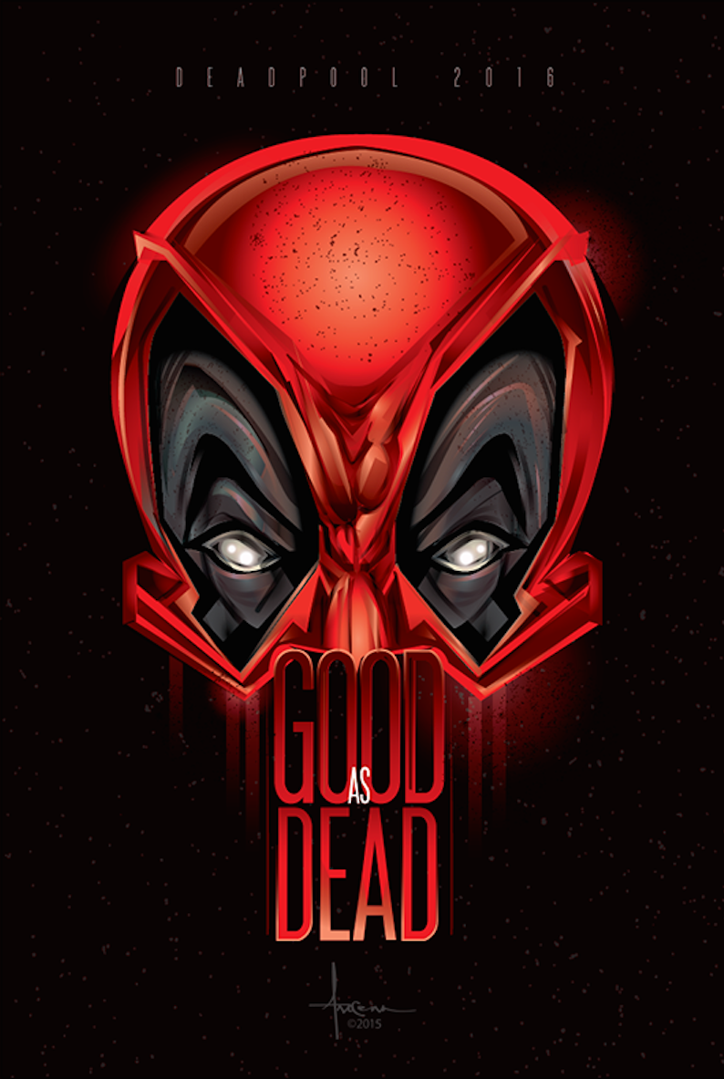 deadpool tribute phase 2 on behance