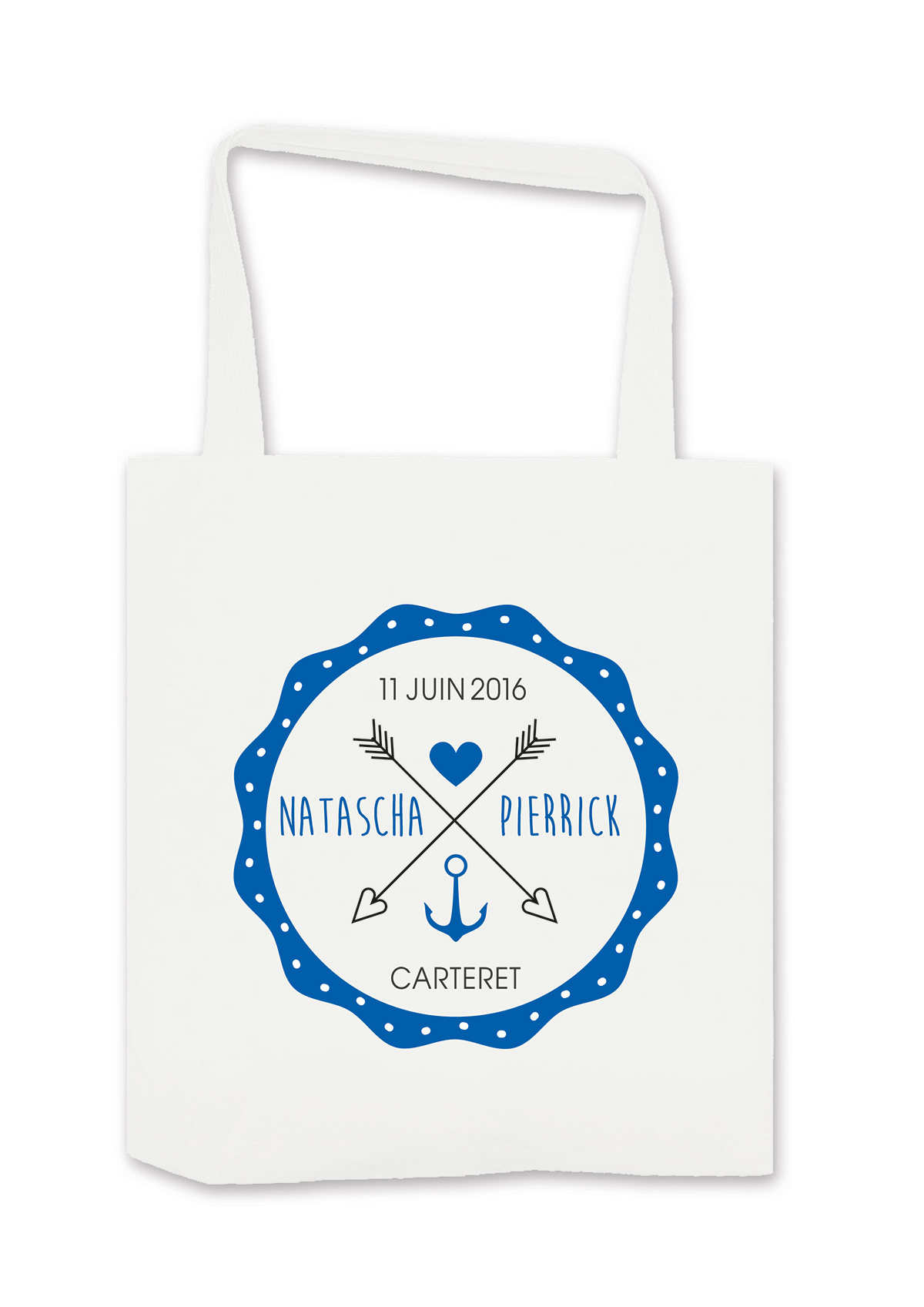 Tote Bags Mode typograpy graphisme wedding