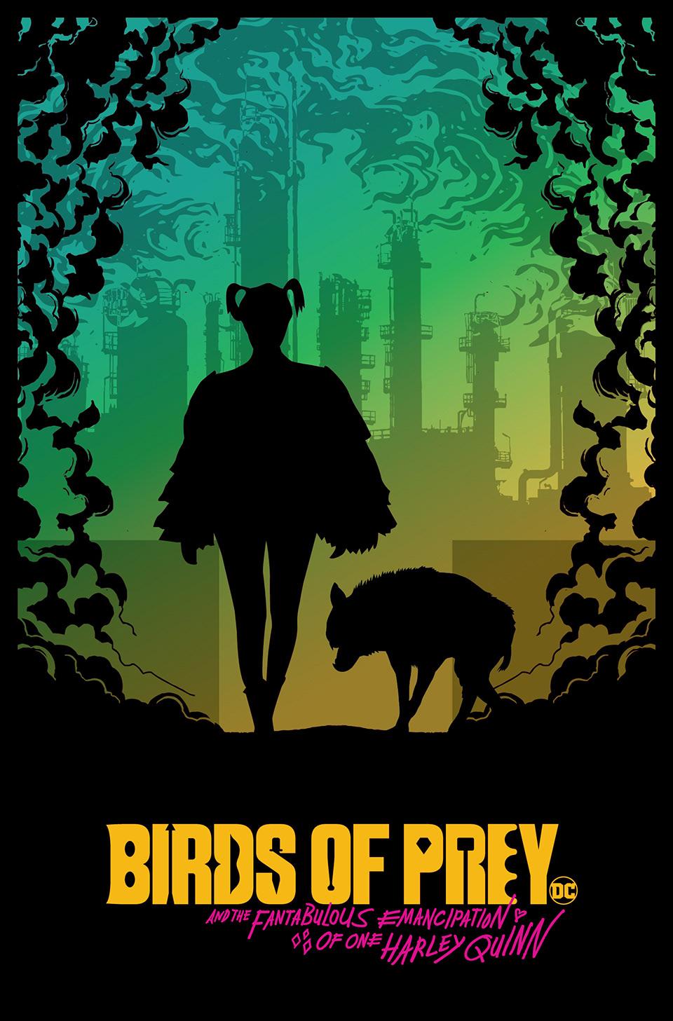Birds Of Prey 2020 Alternative Movie Poster On Behance