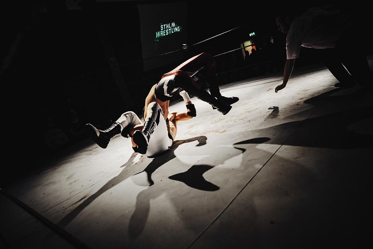 american wrestling Wrestling Stockholm violence dark reportage Sweden eduardo el duardo first time ever david alexander ellersten kajsa dragstedt