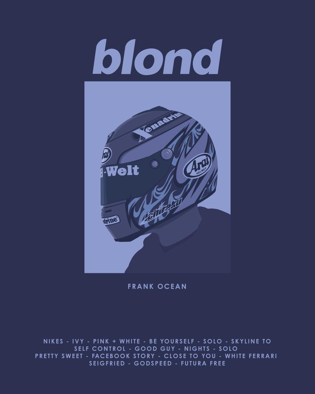 Frank Ocean Blond On Behance