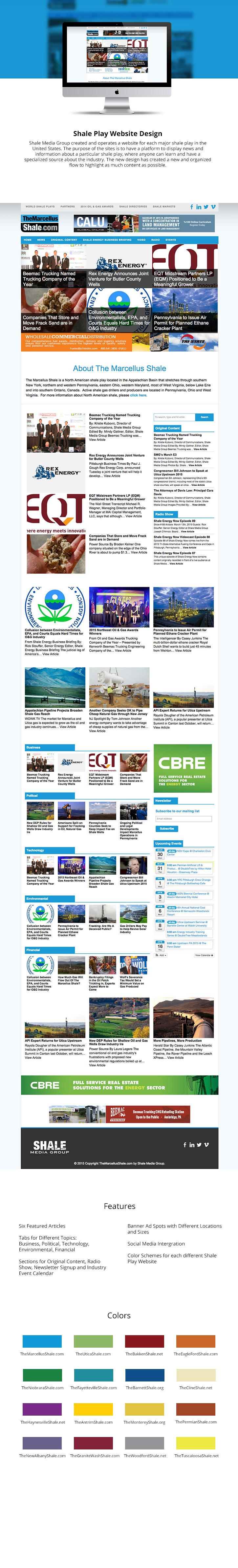 shale wordpress Web news