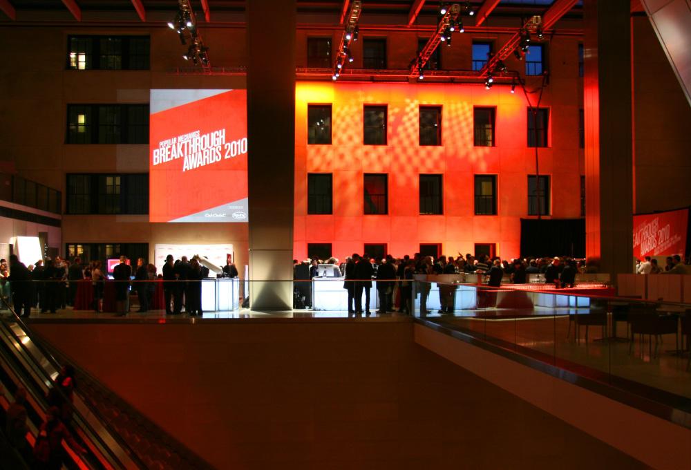 PM  popular mechanics  Breakthrough Awards  event  2010  red