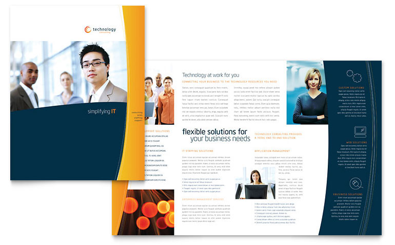 Free Sample Print Layout Designs On Behance  Microsoft Word Template Flyer