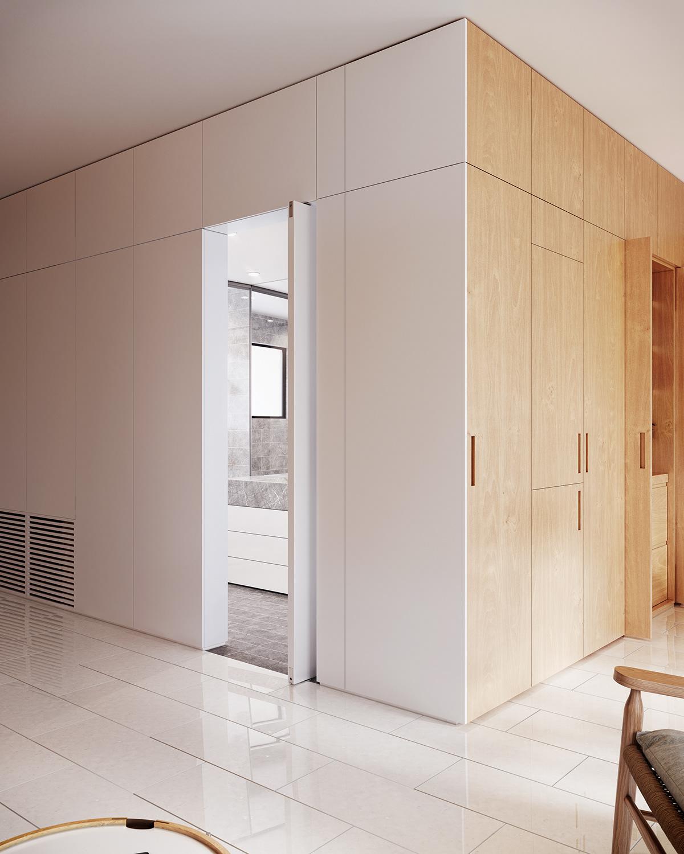 3D 3ds max apartment archviz CGI corona flat Interior lounge visualisation