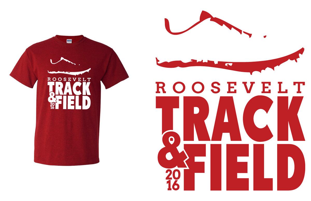 Track Field Designs For Roosevelt Hs On Behance