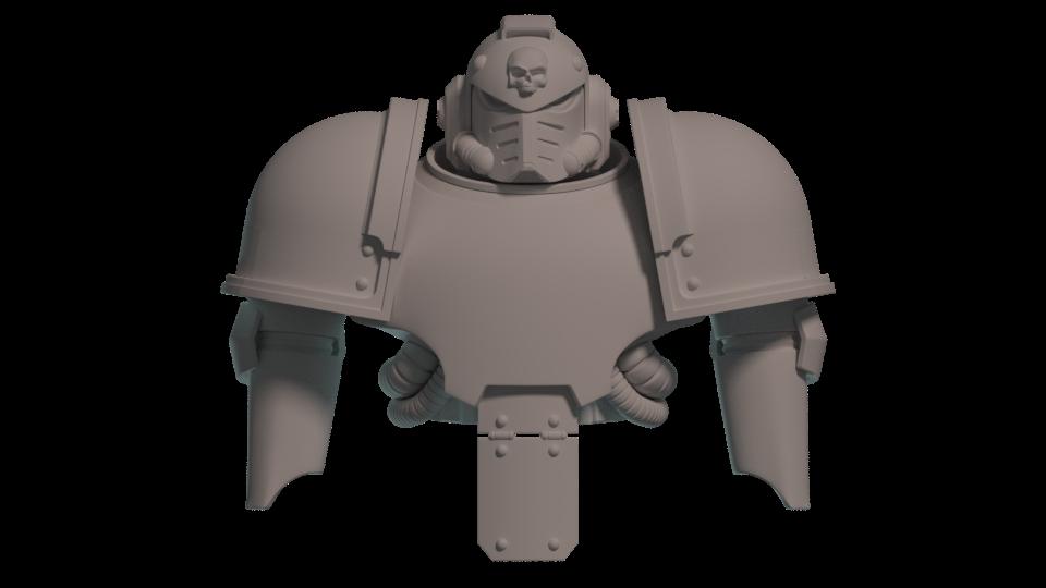 Warhammer 40k Space Marine Helmet