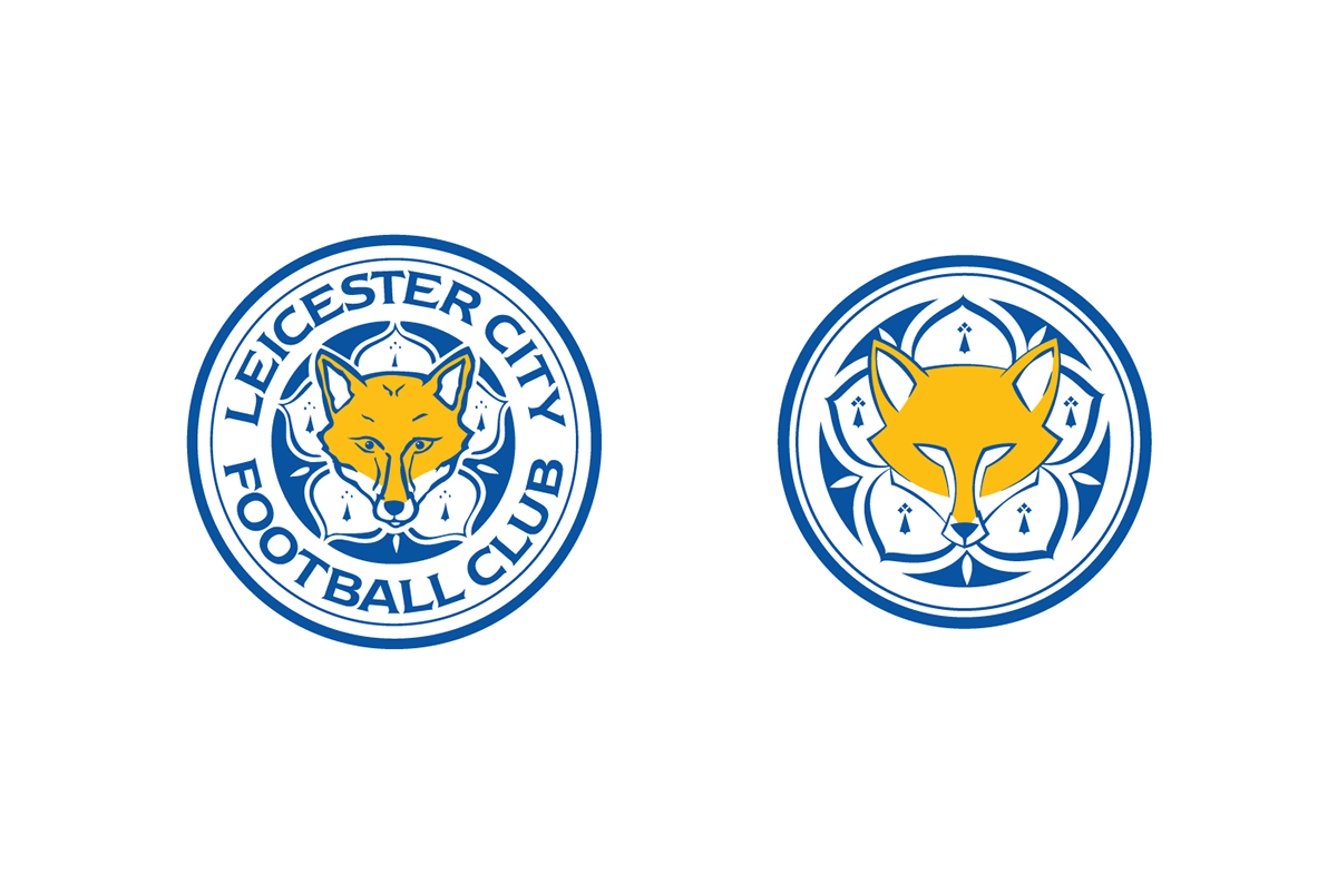 Leicester City FC logo redesign+kit prop on Behance
