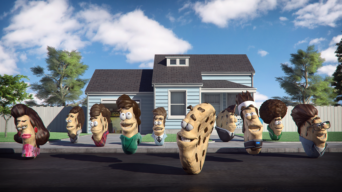 chips ahoy! pepitos animacion animation  Character 3D comercial ad