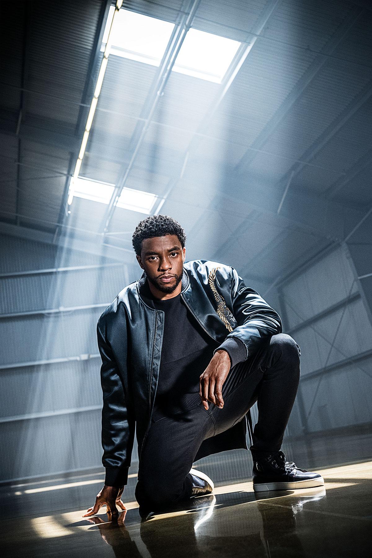 Cnet Chadwick Boseman On Behance