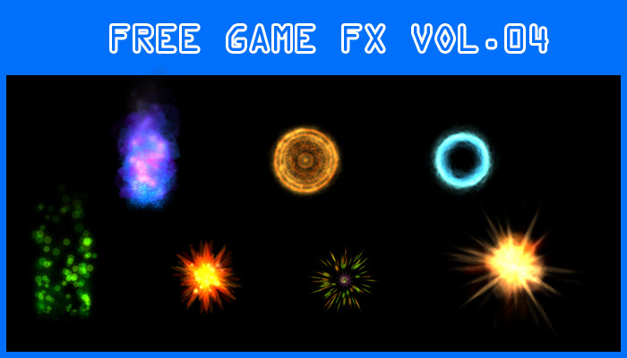 free Game Art Sprite Sheet Special Effects