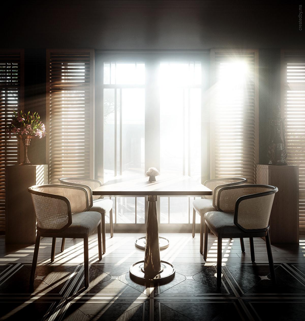 Image may contain: floor, indoor and window