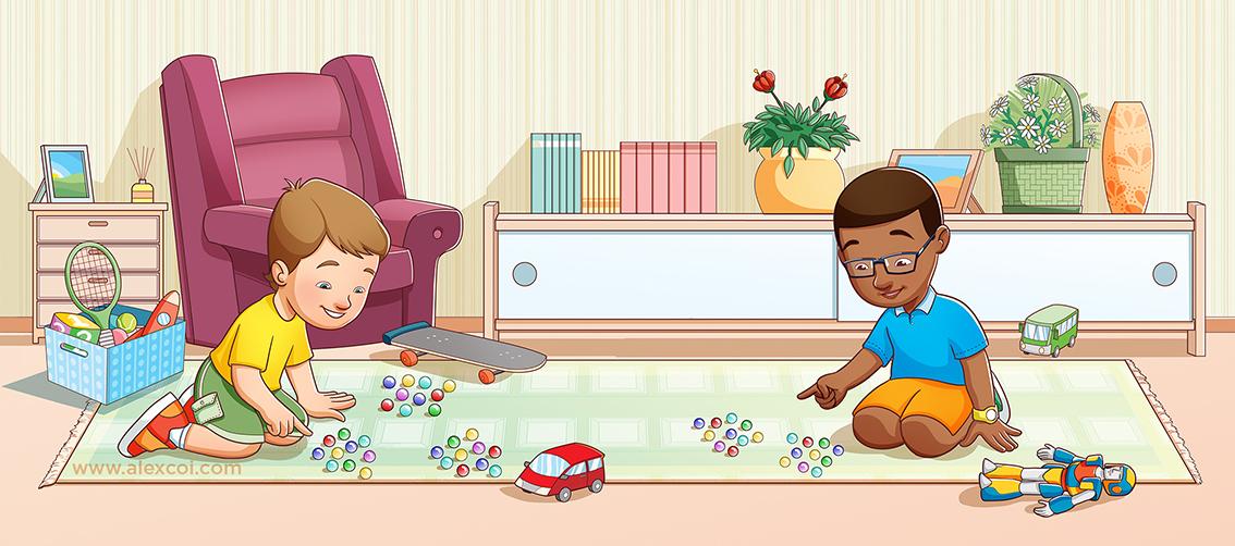 ilustração infantil Ilustração didática ilustração Digital pintura digital desenho photoshop personagem animação