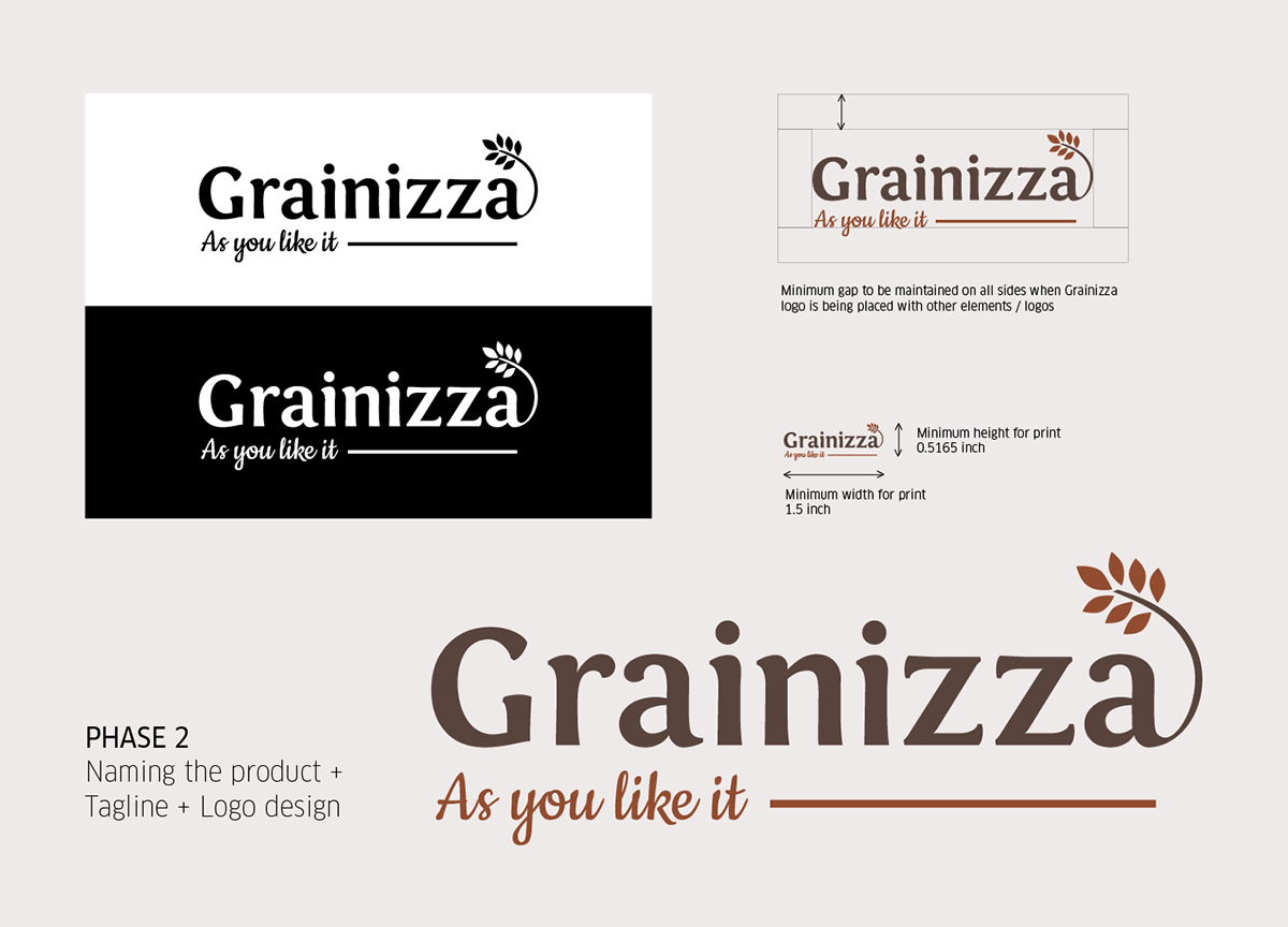 Grainizza - As You Like It' Branding + Packaging on AIGA