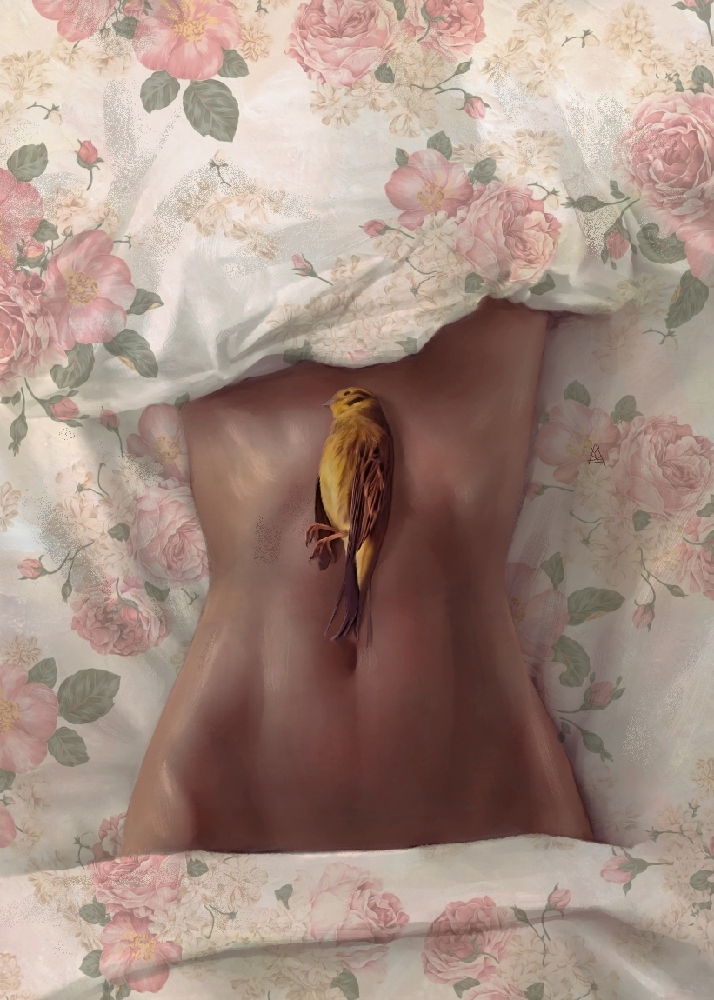 Beautiful illustrations, drawings & paintings by Aykut Aydogdu