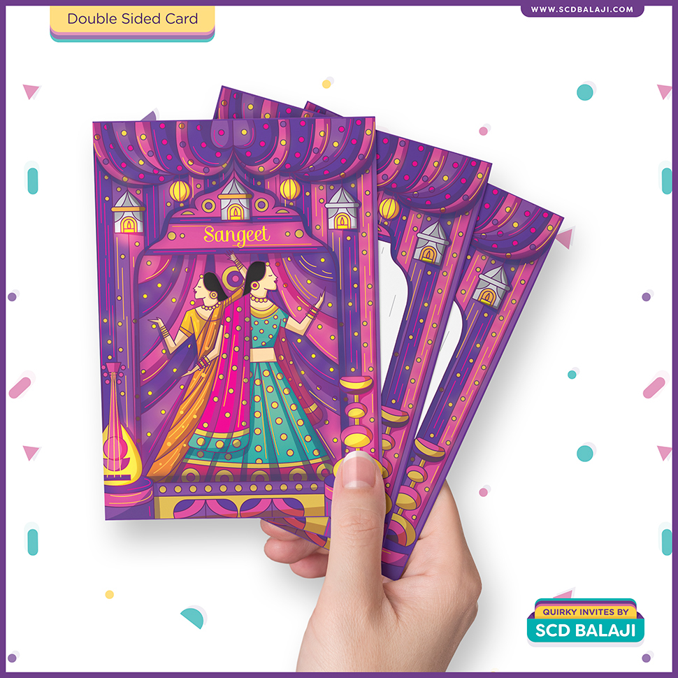 Contemporary Indian Wedding Invitation Suite 2 on Behance