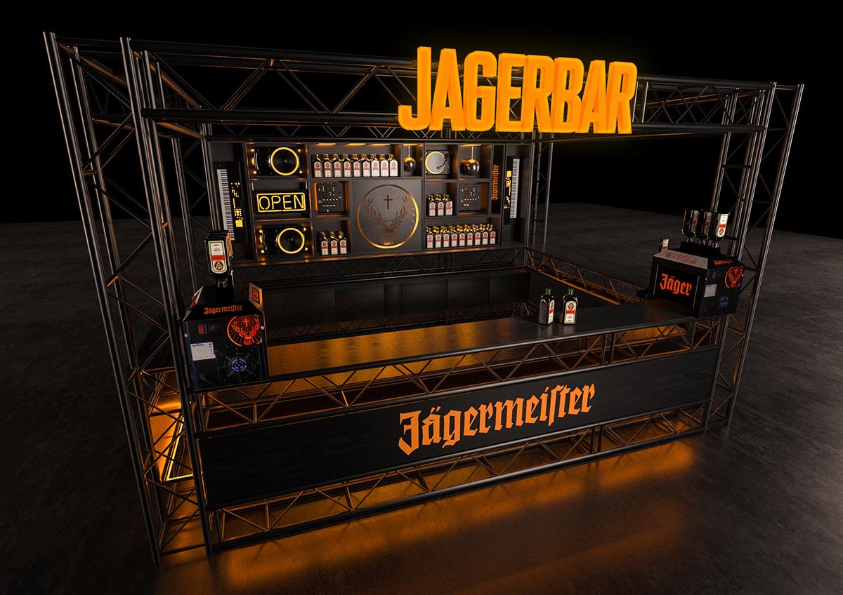 Quầy bar sự kiện Jägermeister - Công ty TNHH Quảng cáo Minh Thành L.H.P