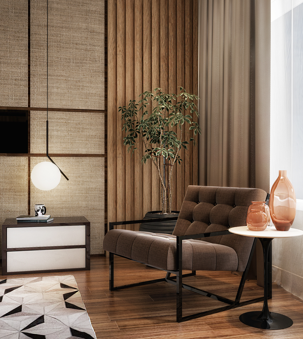 Modern Master Bedroom: Modern Master Bedroom For HSI On Behance