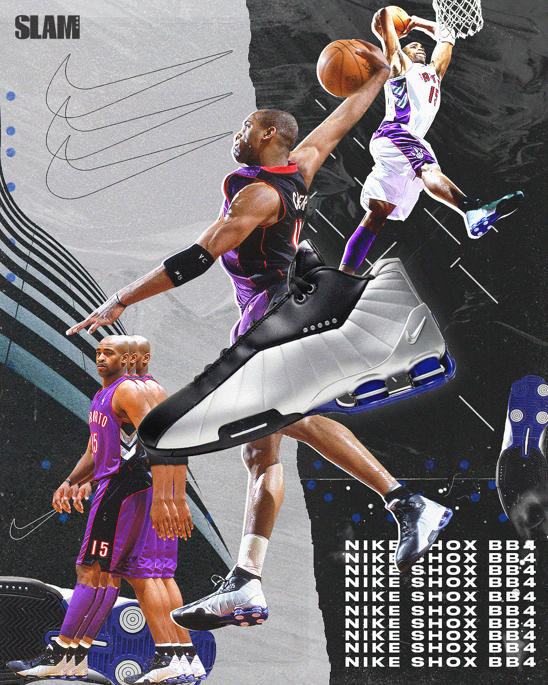 VINCE CARTER - NIKE SHOX BB4 on Behance