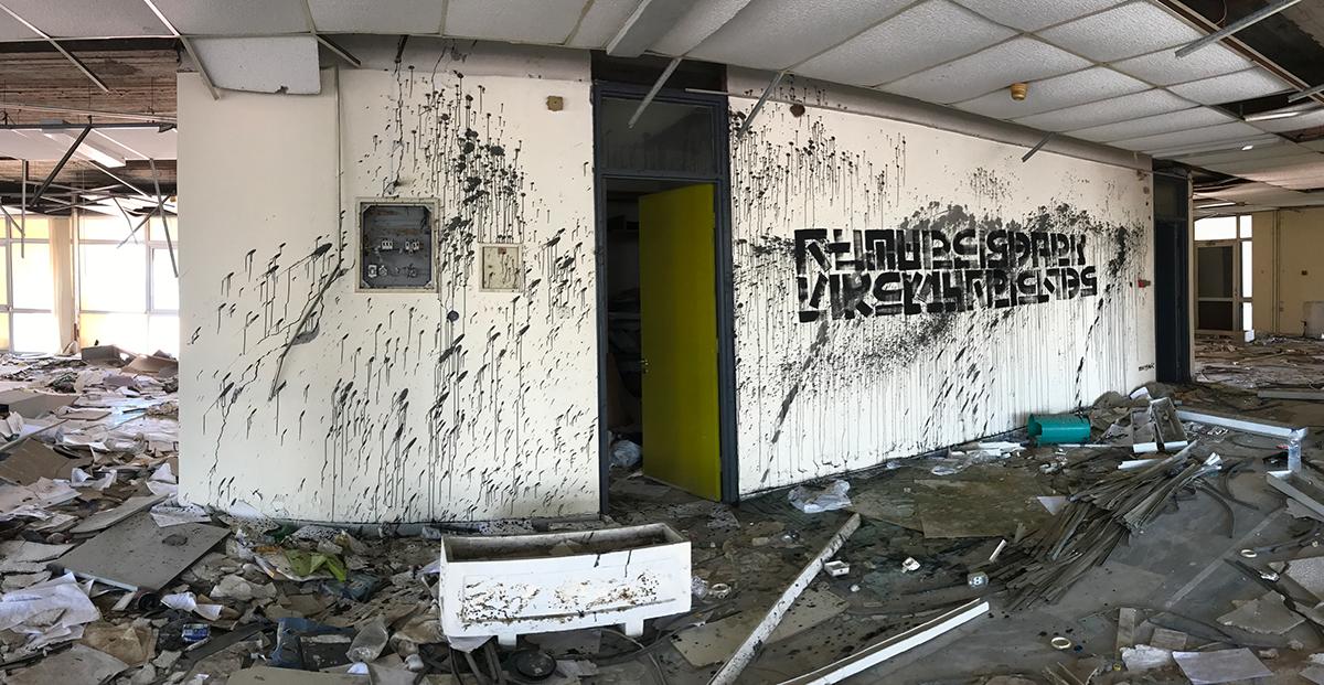 typography   art the krank Greece thekrank Berlin art urban art