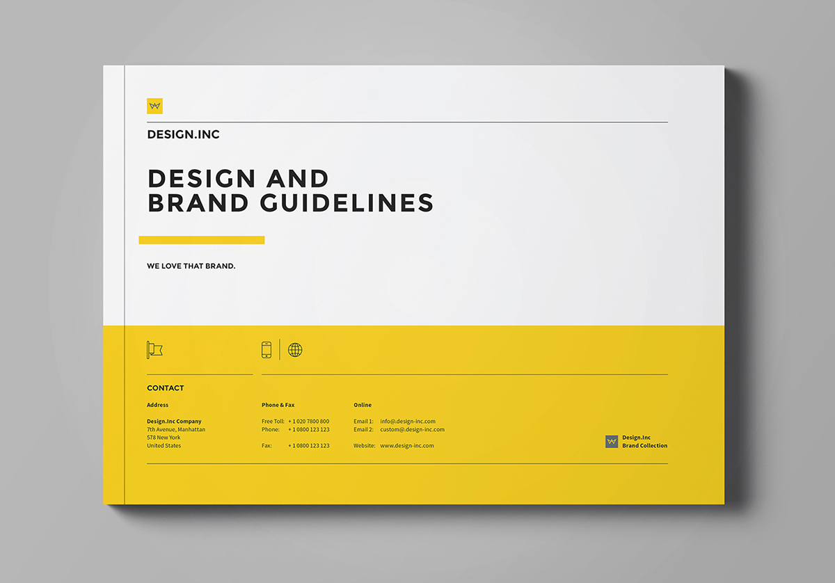 Brand manual on behance for Free brand guidelines template